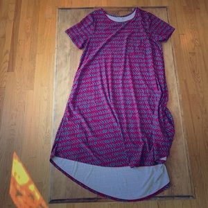 Lularoe Carly Dress made from legging material